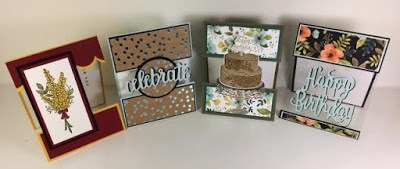 Open Panel card, Free PDF, Stampin'Up!