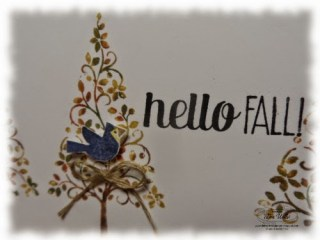 Autumn Festival Of Trees Card