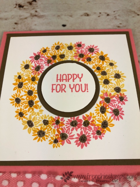 Stamparatus Circle, Wreath, Bouquet Blooms, Bike Ride,  Stampin'Up!, Frenchie Stamps,