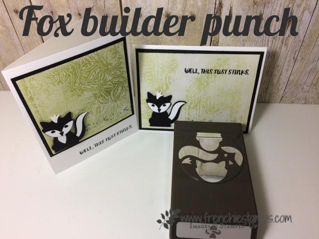 Fox Builder Punch for little Skunk