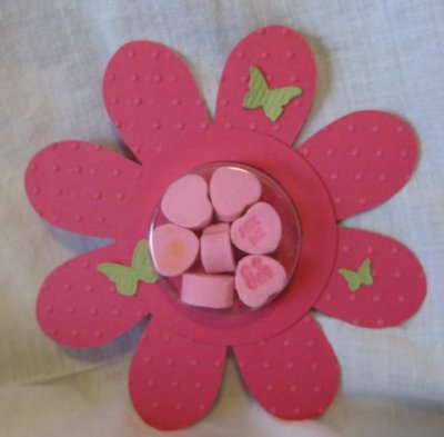 Treat Holder with Flower Fold