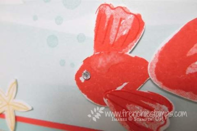 Punch Art Fish, Blossom Builder Punch Stampin'Up!, frenchiestamps