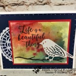 Birds and Blooms, Thinlits Birda and Blooms, Frenchie Stamps, Stampin