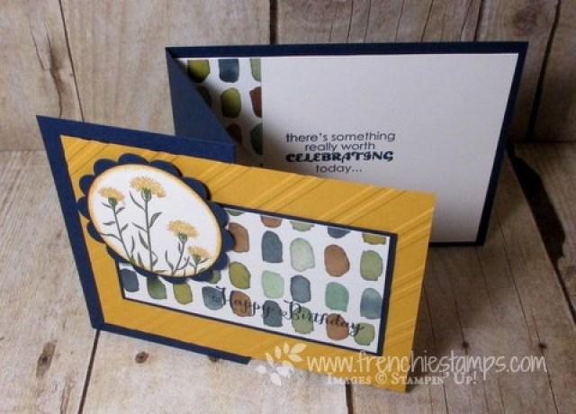 English Garden Z fold Card