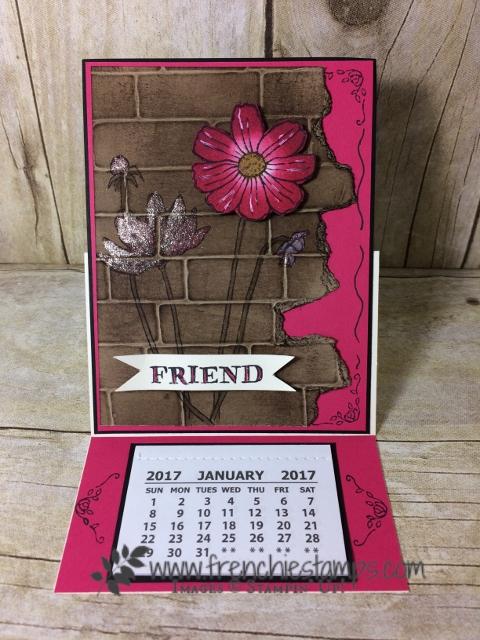 Helping me Grow, Easel Calendar, Stampin'Up!