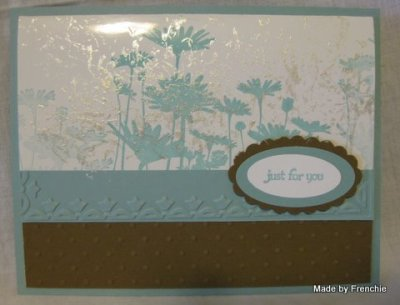 Stampin'Up! Upsy Daisy, Mother od Pearl.