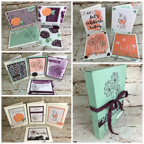 Delightfully Detail 16 cards and a Flip Box Live with Frenchie and Holly