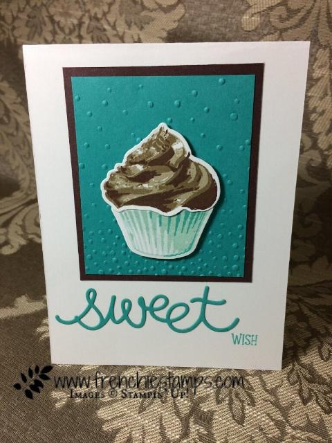 Sweet Cupcake, Cupcake Cutouts Framelits Stampin'Up! Frenchietamps