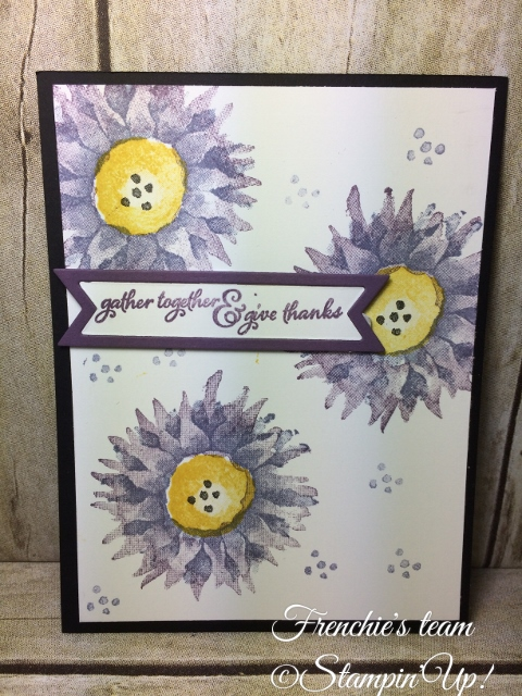 Painted Harvest, Stampin'Up!