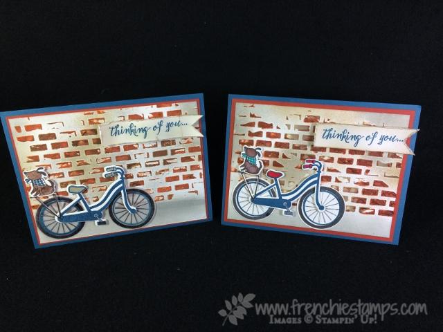 Bike Ride and Brick wall