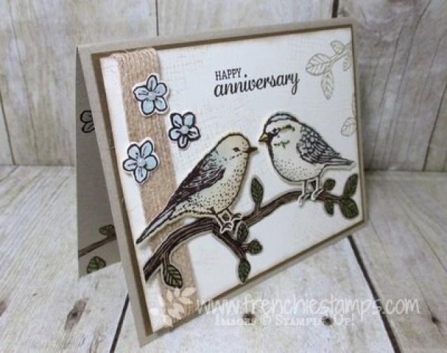 Best Birds anniversary card