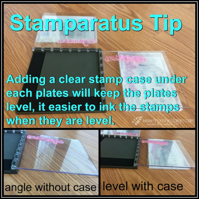 Stamparatus Tip, Clear Case, Frenchiestamps, Stampin'Up!