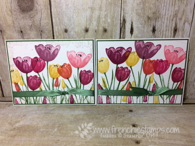 Tranquil Tulips, Stampin'Up! Easy Stamping.