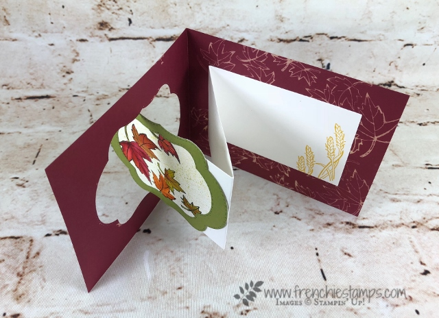 Stitched Seasons,  Frenchie Live Class, Flip Card, Stampin'Up!, Star of Light,