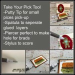 How to use the Take Your Pick tool by Stampin