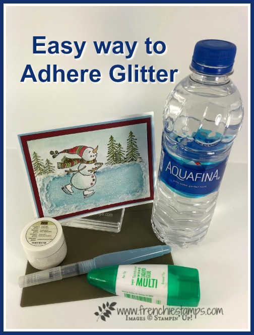 How to add glitter to your project