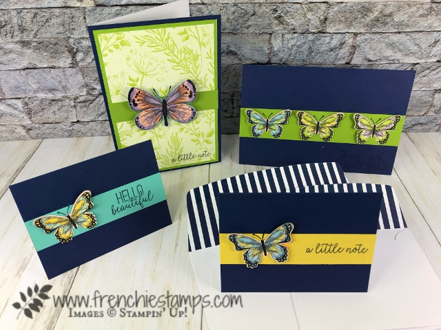 Botanical Butterfly with the Butterfly Duet Punch