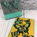 Tip for the Butterfly Beauty Thinlits. How to separate them and more. The adhesive sheet is a greet product to adhere the layers. All supplies by Stampin