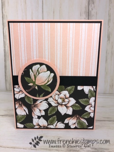 Magnolia Lane Designer Paper by Stampin'Up! Available at frenchiestamps.com