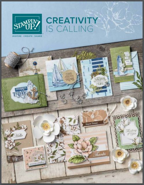 Stampin'Up! 2019-2020 Annual Catalog.