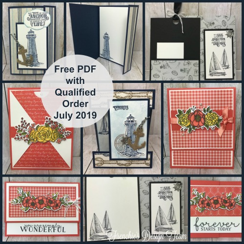July Customer Appreciation at Frenchie' Stamps