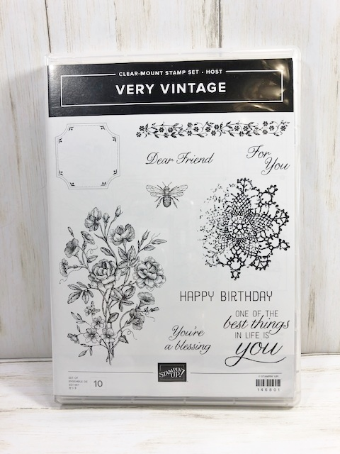 Special offer at frenchiestamps.com Qualified to get a free Very Vintage stamp set. From July 6 to the 19 2019 or while supplies last whichever come first