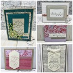 Showcase of the Woven Heirlooms bundles. Stitched Nested Labels All product by Stampin