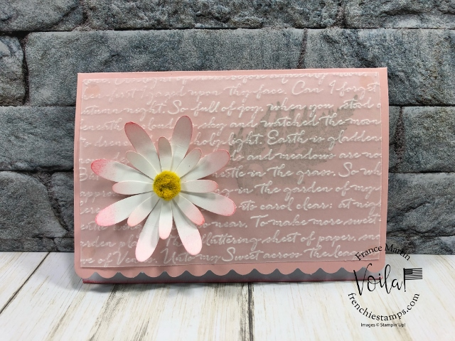 Daisy Land with Scalloped Note Cards