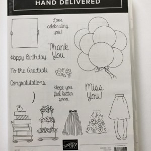 Hand Deliver Photopolymer stamp Set