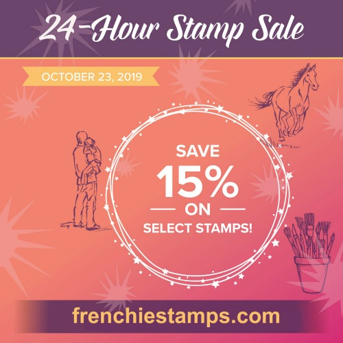 Stampin'Up! 24 Hour Stamp Sale.