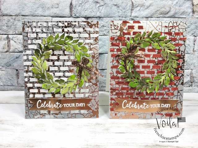 All Around Wreath On Mercury Glass