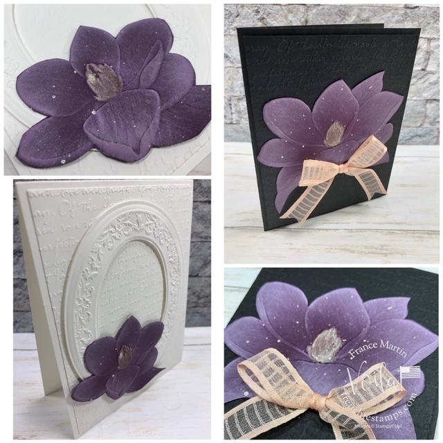 3D Embossing Folder make a lovely and striking card.