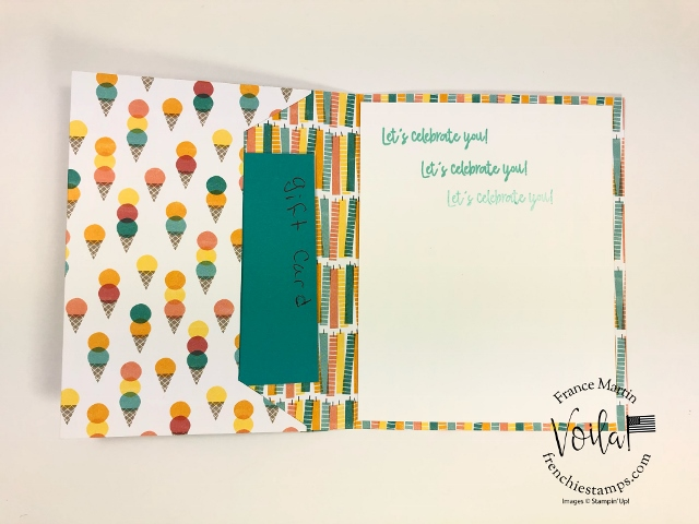 Frenchie Visit at Stampin'Up! home office. Fun battle of the stamp Birthday Bonanza with Sara CEO of Stampin'Up! and her hubby Sean