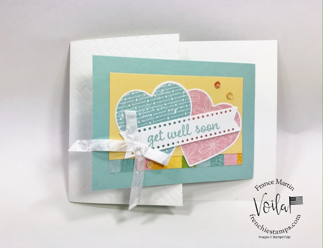 New release coordination product by Stampin'Up! February 4th 2020. Coordination Pleased As Punch and Heart Punch Pack.