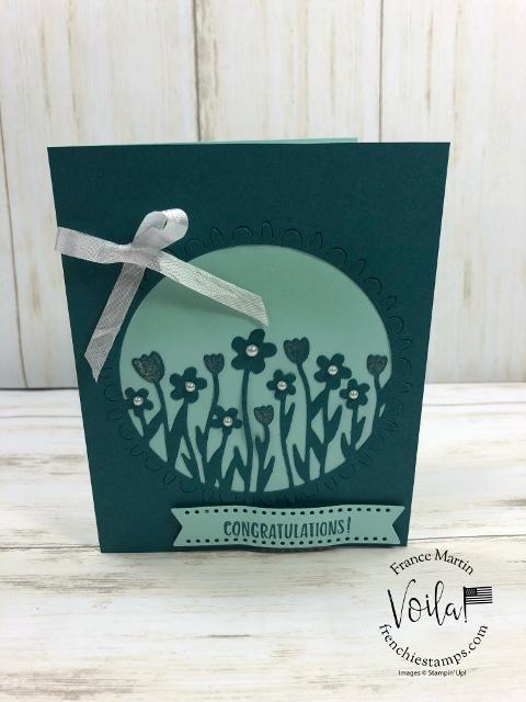 Simple Card using the Sending Flowers Dies