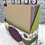 6 x 6 Designer Paper holder with dividers
