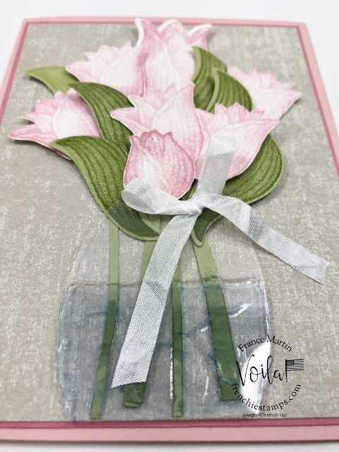 How to make a flower vase with window sheet, adding glue for a faux illusion  that is water inside the vase.