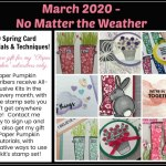 No Matter the Weather Stampin