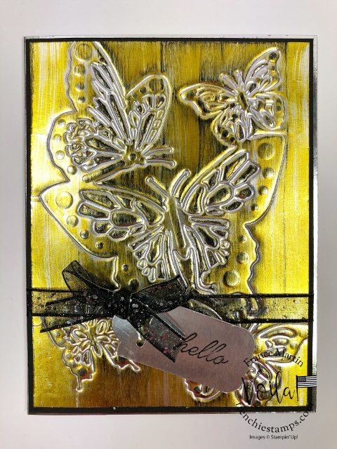 How to Emboss with Detail Die. I'm the guest tutorial on Splitcoaststamper for this tutorial.