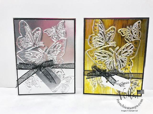 How To Emboss With Dies, Guest Tutorial Author On Splitcoaststampers