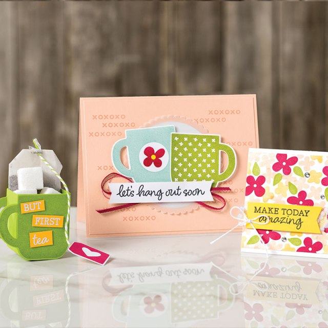 2nd release of products for Sale a Bration rewards. Rise & Shine Stamp set