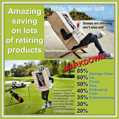 Retiring In-Colors, Super Deal on retired product