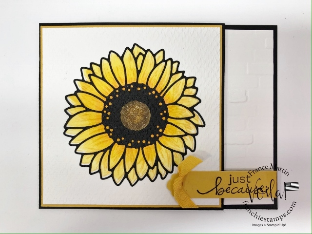 Celebrate Sunflowers Emboss Die-Cut.