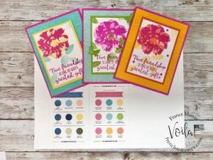 In-Color Coach combo for Magenta Madness with the stamp set To A Wild Rose