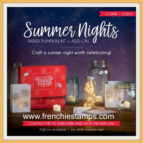 Summer Nights July 2020 Paper Pumpkin,