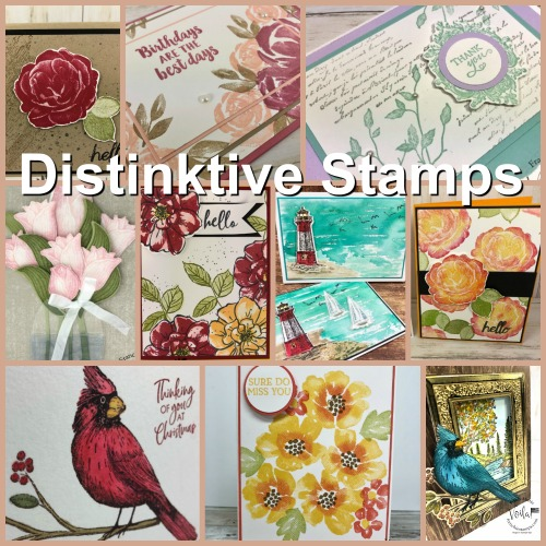 Distinktive Stamp Sets showcase.