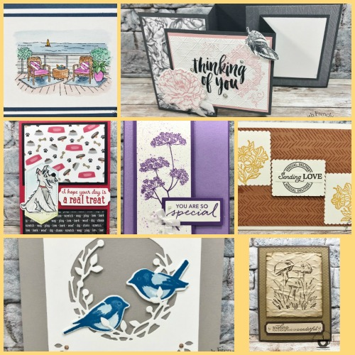 Frenchie' Team Showcasing New Release Stamp Set From Annual Catalog 2020-2021 Round 2
