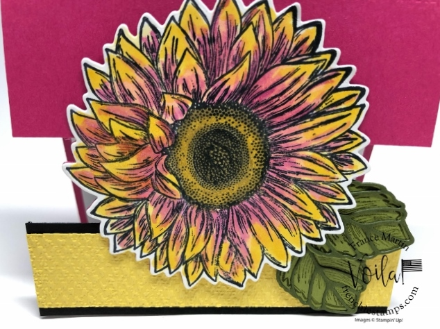 Celebrate Sunflowers Partial Die Cut.