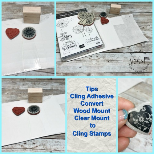 Tip for the Cling Adhesive