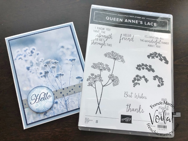 FeelsLike Frost with Queen Anne's Lace